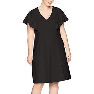 NWOT Calvin Klein Fit Flare Dress Bell Sleeves 20W